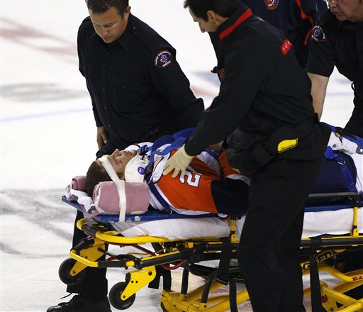 Former NHL players sue over concussion-related injuries