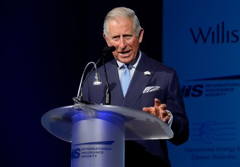 Disaster risk transparency aids response to climate change: Prince Charles