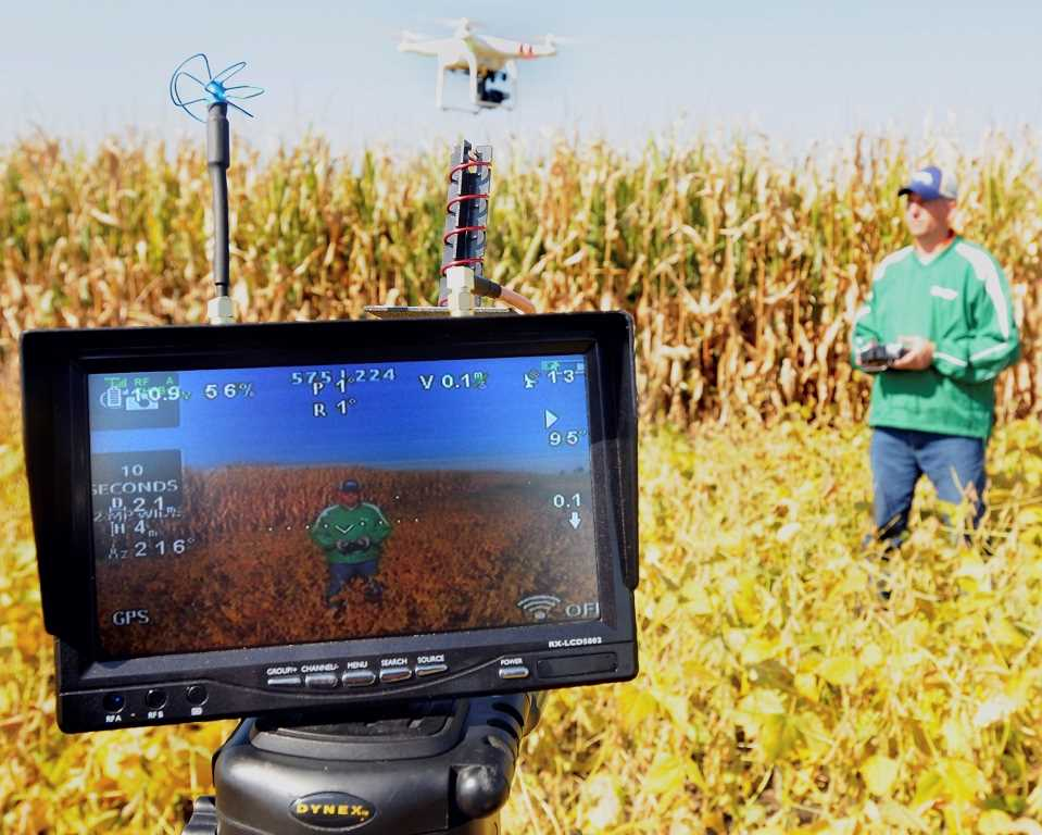 ADM could use drones from 2016 to get crop insurance claims data