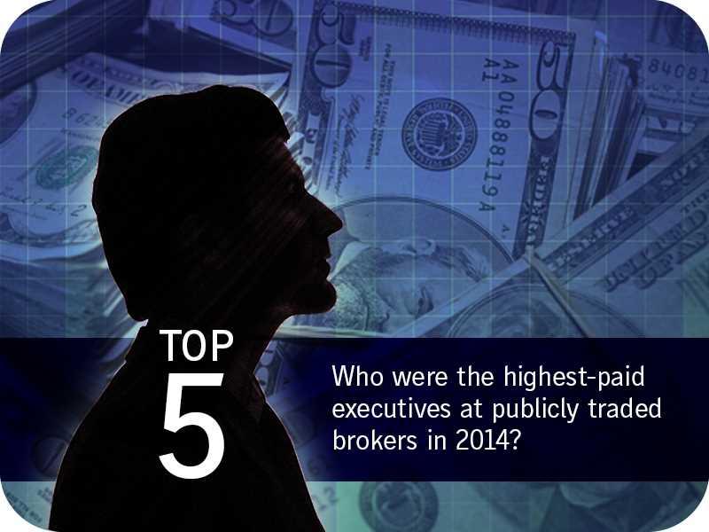 Highest-paid broker execs