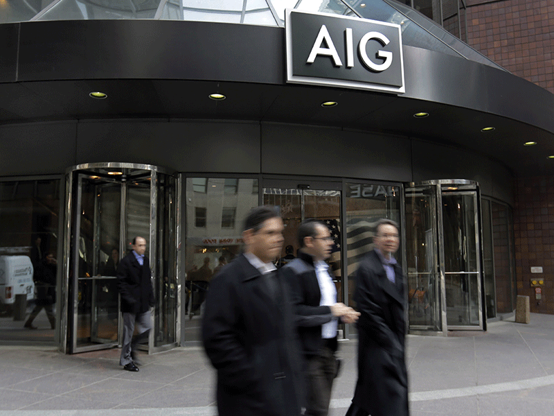 AIG bailout ruled illegal, but no damages for Greenberg