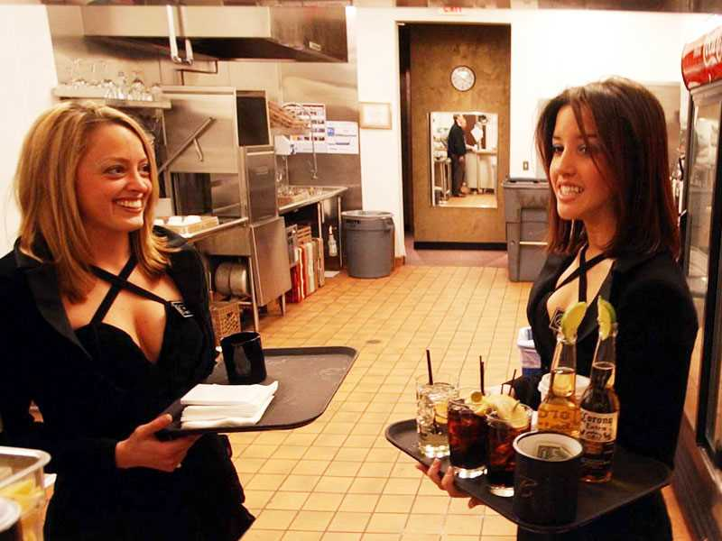 Casino generally in clear on waitress weight requirement