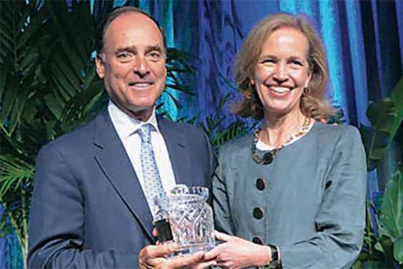 Restrepo receives Griffith Lifetime Achievement Award