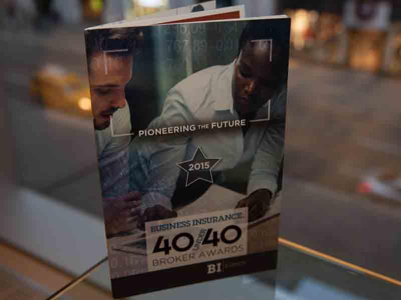 40 Under 40 awards receptions
