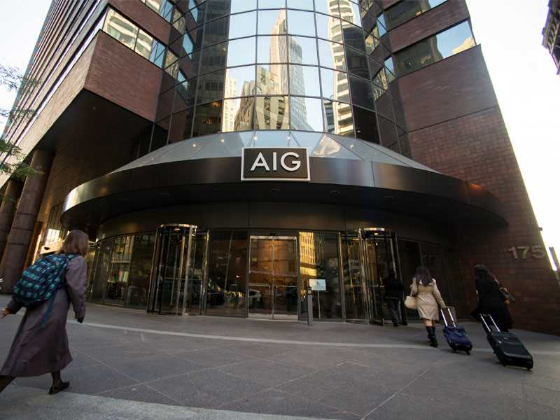 AIG to cut senior management on heels of weak results