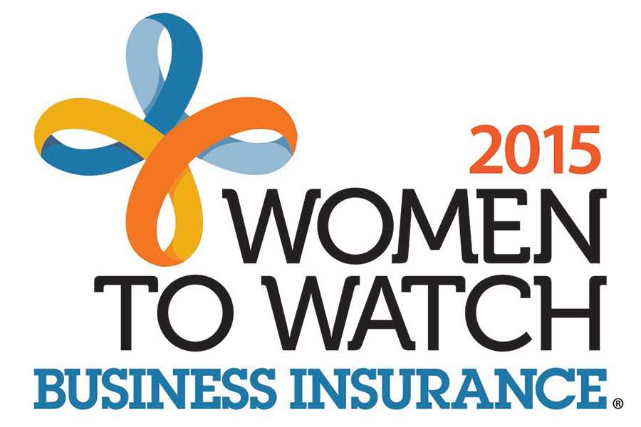 Business Insurance's 2015 Women to Watch awards program recognizes outstanding female leaders in the insurance industry