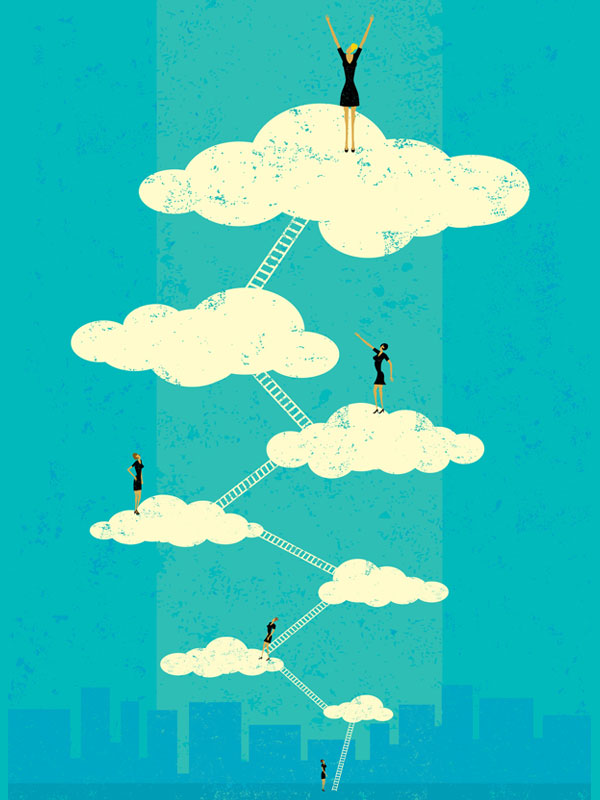 Women can climb ladder to corporate board seats