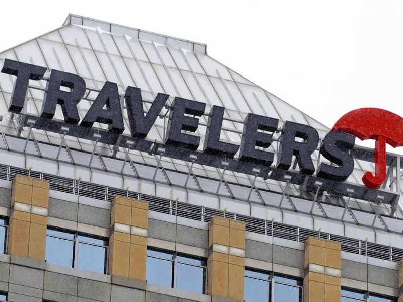 Investment income decline hits Travelers profit
