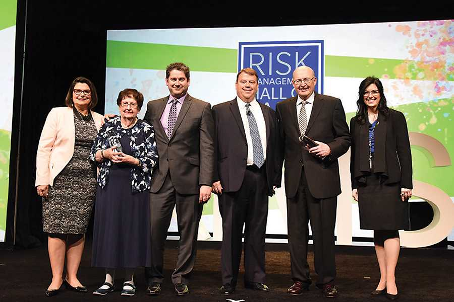 Risk Management Hall of Fame honors McGannon, Mikulina