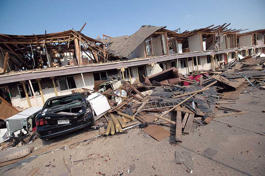 Reward offered for information on Texas fertilizer plant explosion