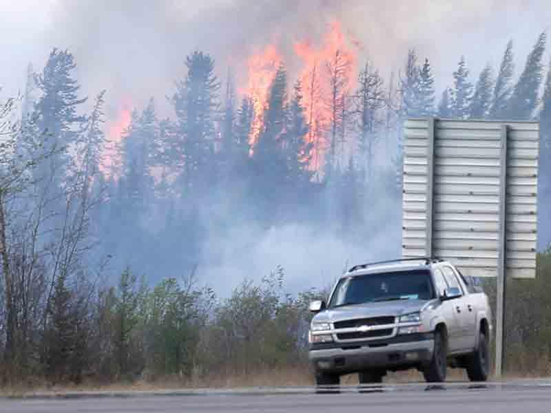 Fort McMurray Alberta Canada May wildfire $3.58 billion insured damage Insurance Bureau of Canada