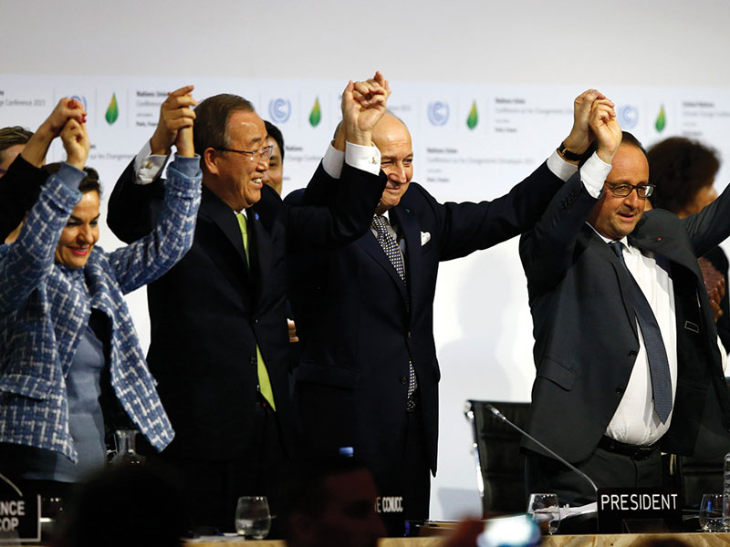 Insurance sector has key role in climate agreement