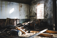 Metal theft from abandoned buildings creates costly problems