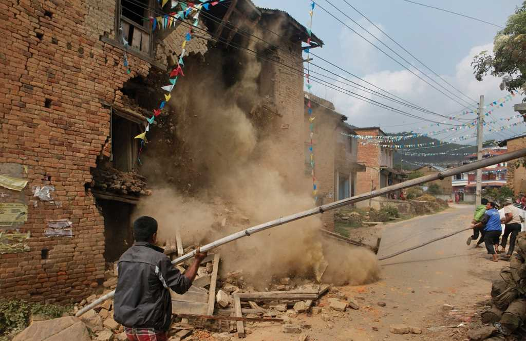 Insurance covers only a fraction of Nepal's earthquake damage