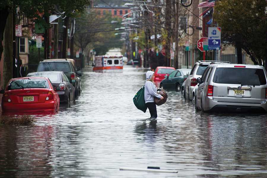Hoboken, New Jersey Mayor Dawn Zimmer takes the challenge of ensuring infrastructure resiliency personally