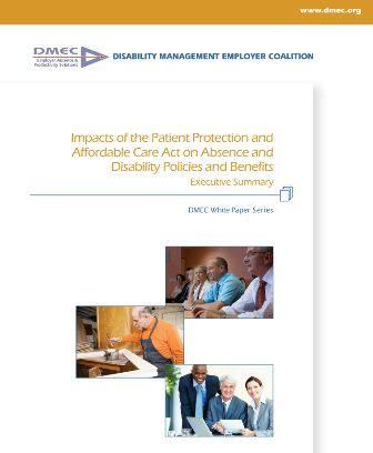 PPACA's effect on disability durations discussed at DMEC meeting