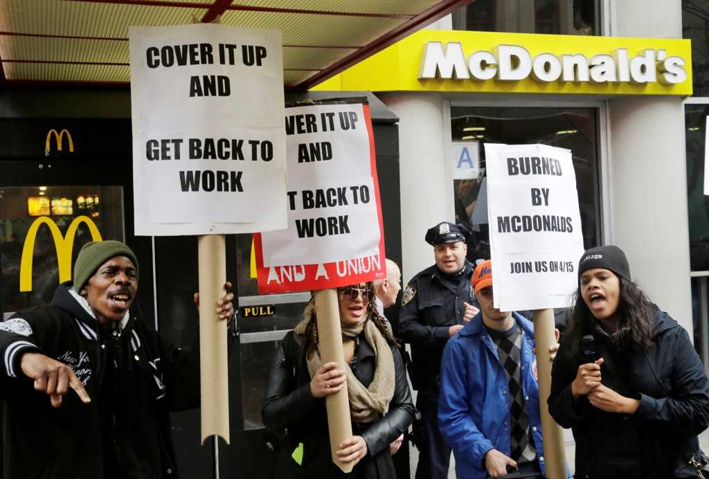 McDonald's worker safety complaints challenge franchise protections