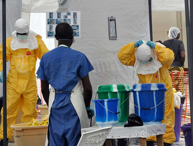Health care worker gown, glove procedures key to contamination risks