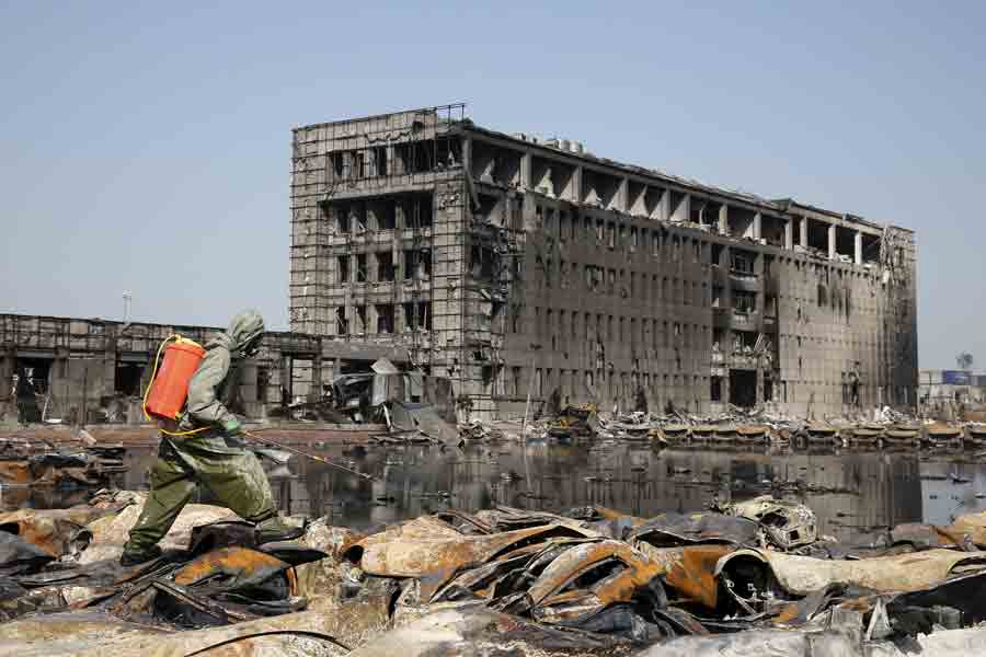 Tianjin explosion claims challenge insurers