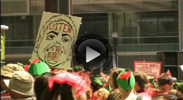 VIDEO: NATO Protests in Chicago, Part 1