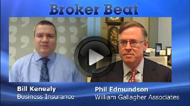 Business Insurance BROKER BEAT Video: William Gallagher Associates