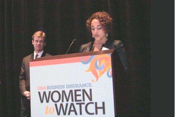 Business Insurance In Focus video: 2014 Women to Watch, Aranya Tomseth