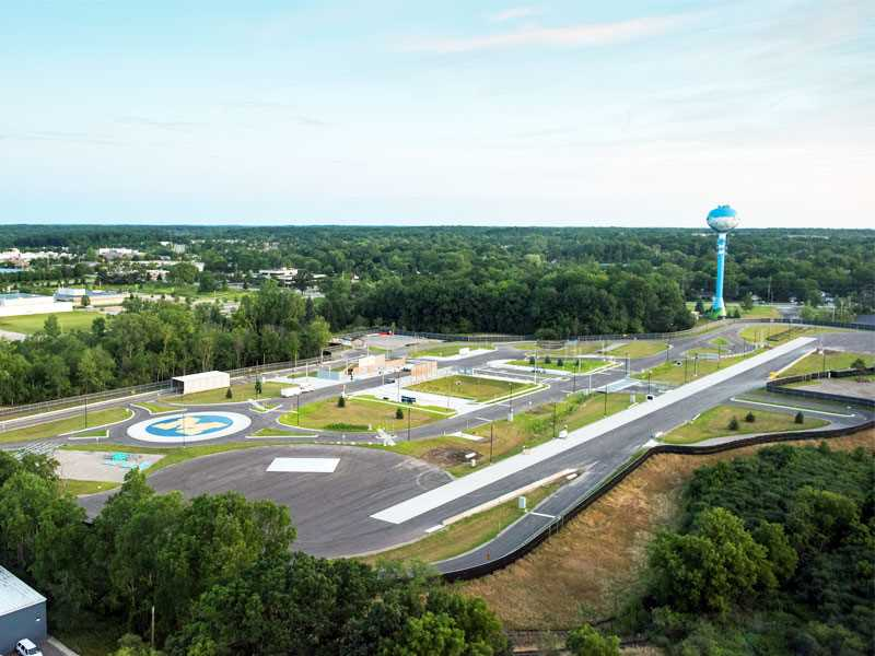 Driverless cars get prepped for the real world at new testing facility