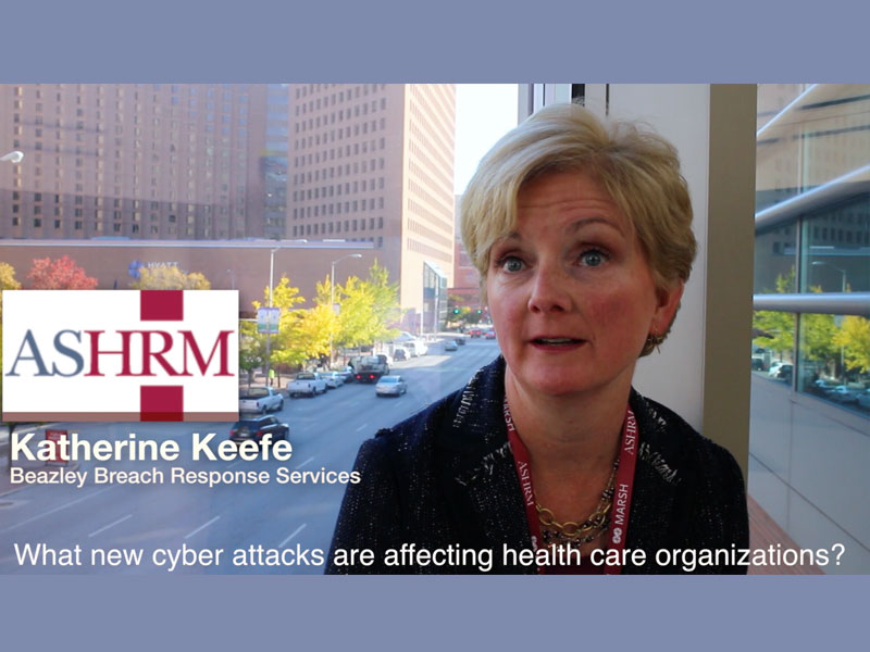 Cyber risks in health care