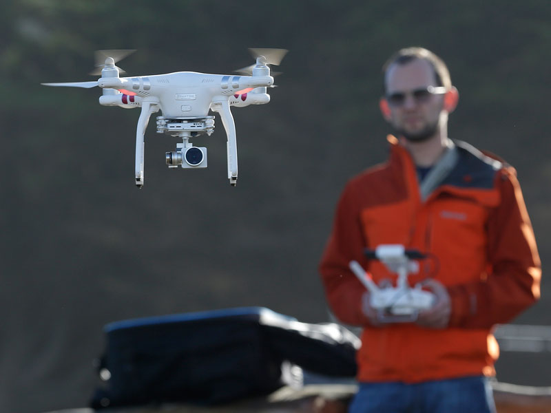 Erie Insurance sends in the drones