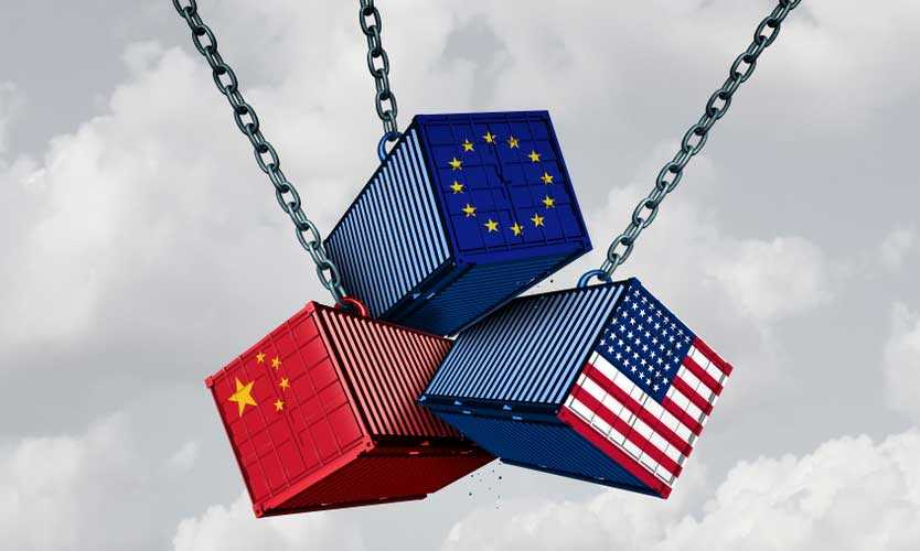 US EU China trade wars