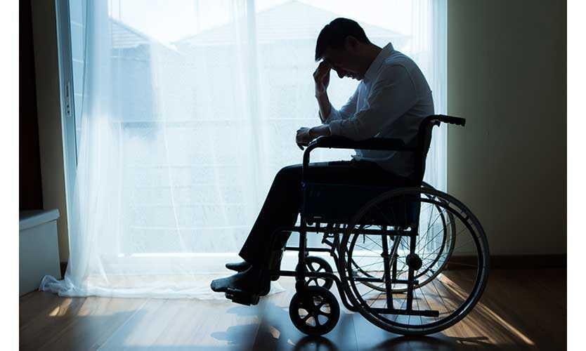 Depressed injured worker