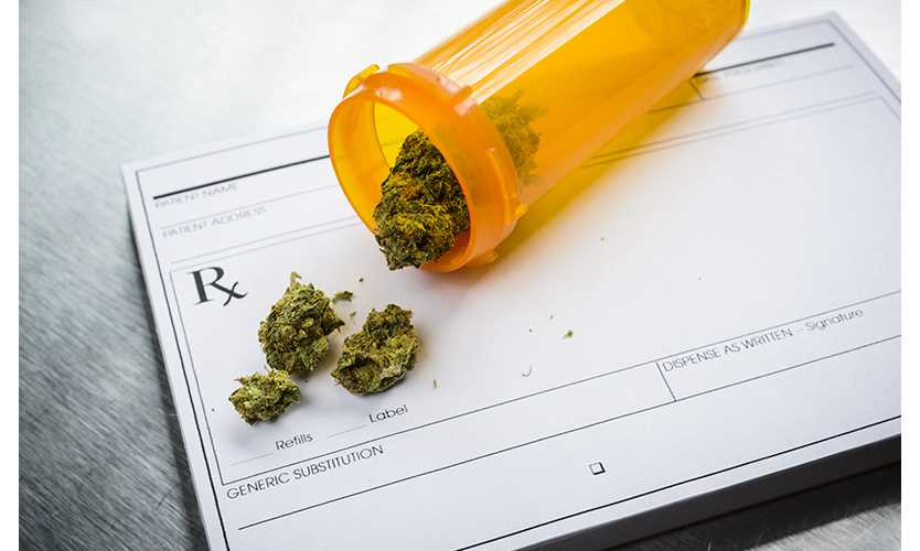 Medical marijuana comp payments rolling in