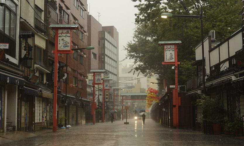 Typhhon Hagibis hits Tokyo