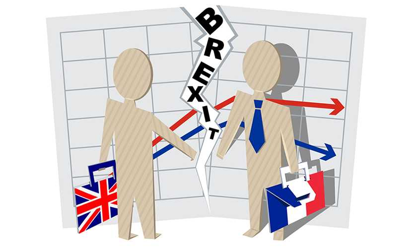 Brexit effect on business with France