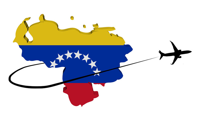Venezuela airplane