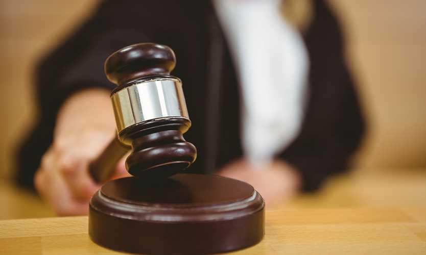Court ruling gavel