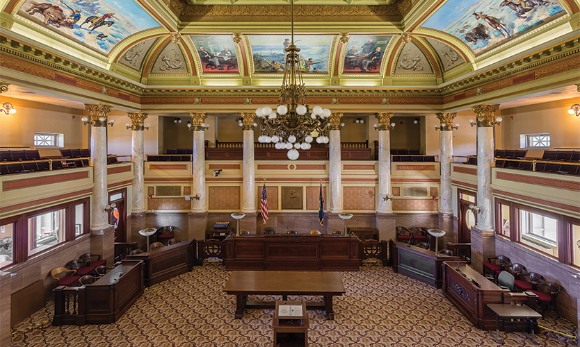 Montana state courthouse