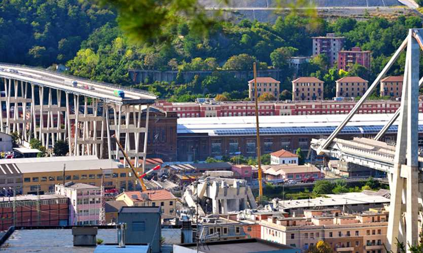 Swiss Re insures operator for collapsed Italian bridge