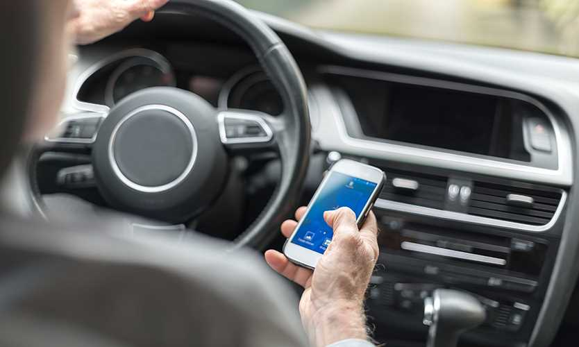 Hitting the brakes on distracted driving
