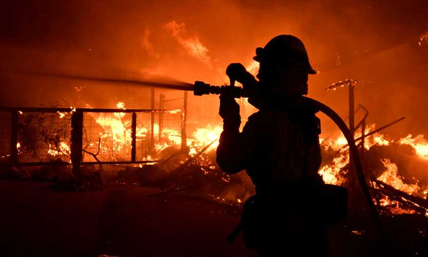 Woolsey Fire in California