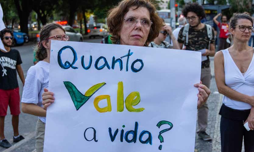 Brazil dam rupture protest