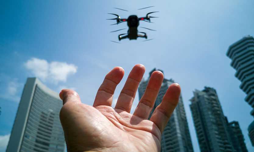 Singapore drone