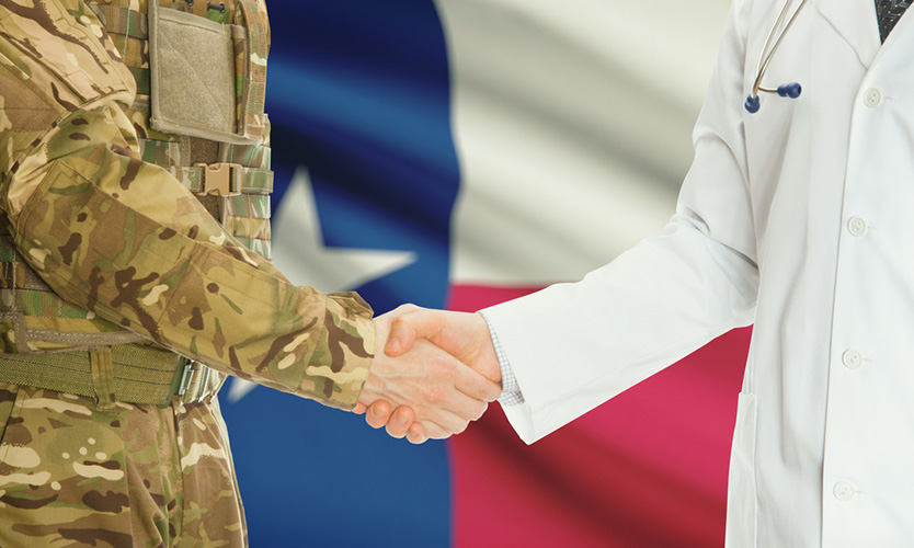 Texas military doctor