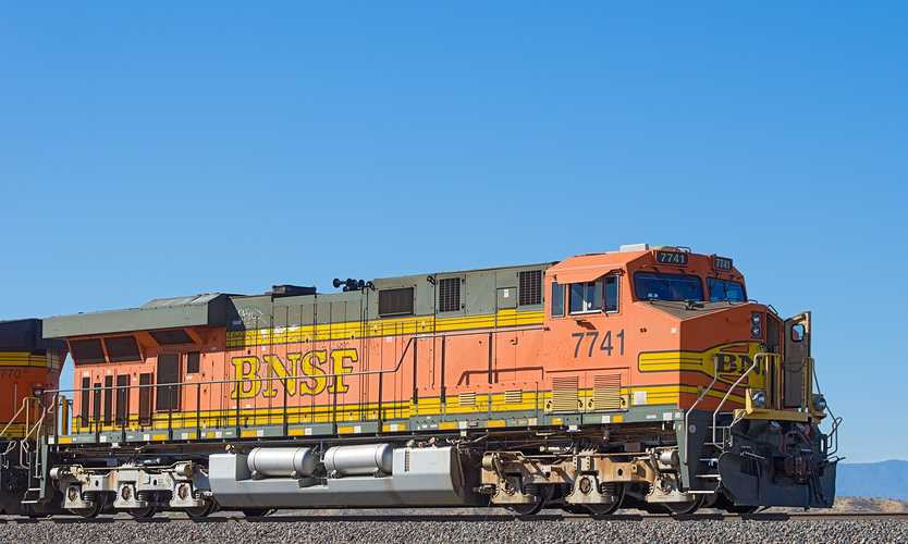 BNSF Railway train