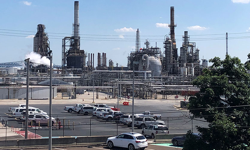 Oil refinery searches for buyer absent insurance payout