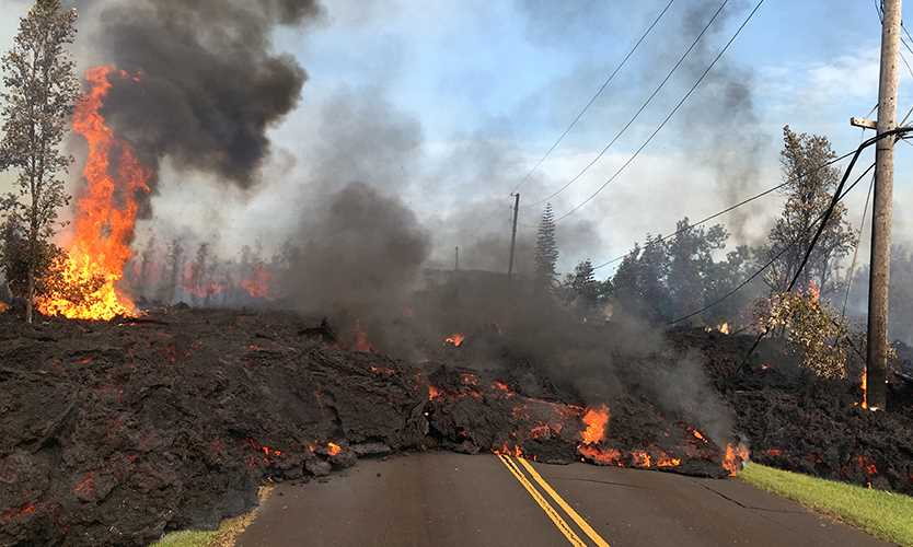 Kilauea Lava Flows Draw Attention To Volcano Risks Business Insurance