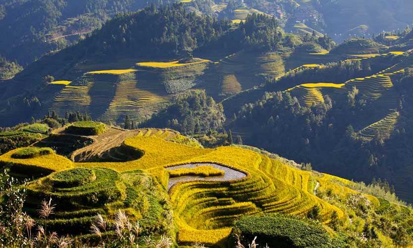 Guangxi region in China