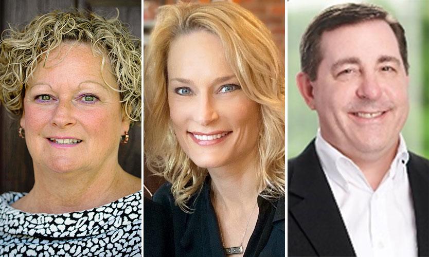 Audrey Greening, Heather McClure, David Eiermann