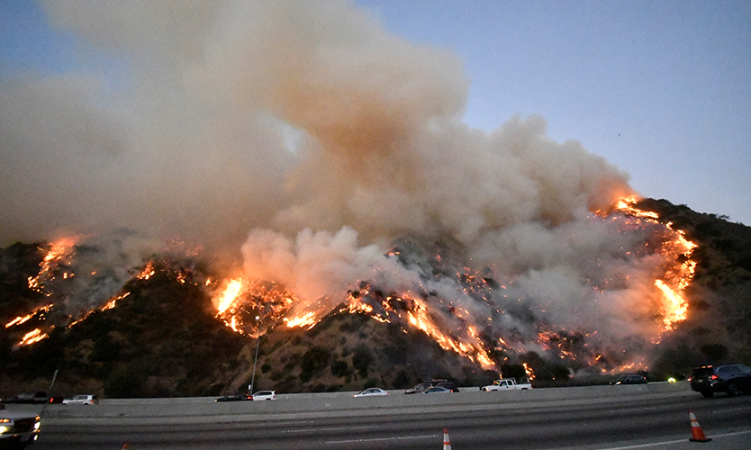 Getty Fire in California