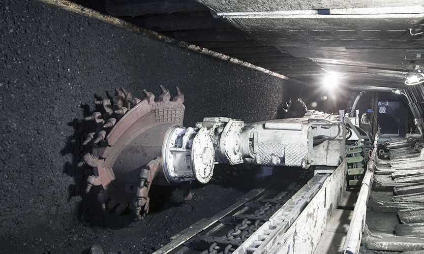 Coal mine excavator, Poland